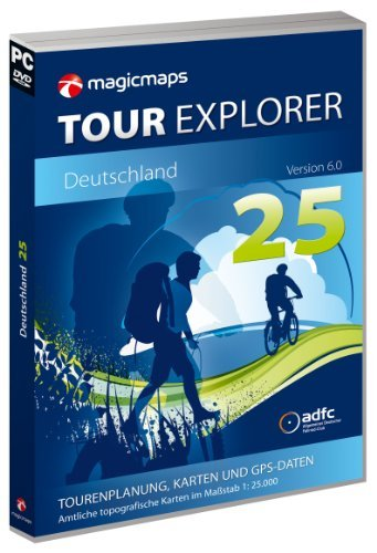 magicmaps routenplanungsoftware dvd tour explorer 25 set west v6 0 nwherpsl fa003560031 - MagicMaps Routenplanungsoftware DVD Tour Explorer 25 Set West V6.0 Nw/He/Rp/Sl, FA003560031