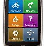 Mio Cyclo 200 Wasserfestes Fahrrad GPS Navigationsgerät mit Openstreetmaps (Westeuropa), Turn-by-Turn-Navigation, Routenplaner, Points-of-Interest sowie Workout-Programm