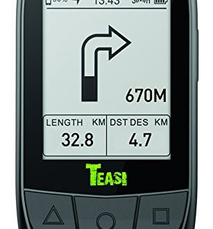 TEASI Core Fahrradcomputer Inklusiv Tahuna App Geschwindigkeits und Trittfrequenzsensor 307x330 - TEASI Core - Fahrradcomputer Inklusiv Tahuna App, Geschwindigkeits- und Trittfrequenzsensor, Schwarz