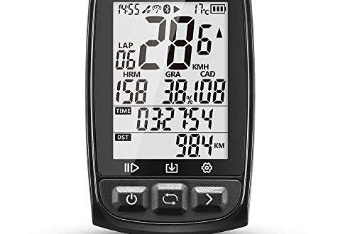 IGPSPORT Fahrradcomputer GPS ANT Funktion iGS50E Drahtlose Tachometer Radfahren Fahrrad 500x330 - IGPSPORT Fahrradcomputer GPS ANT+ Funktion iGS50E Drahtlose Tachometer Radfahren Fahrrad Kilometerzähler Großes Display Wiederaufladbar Wasserdicht(Schwarz)