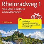 Fahrrad-Tourenkarte Rheinradweg 1, Von Stein am Rhein nach Mannheim: Fahrrad-Tourenkarte. GPS-genau. 1:50000. (KOMPASS-Fahrrad-Tourenkarten, Band 7008)