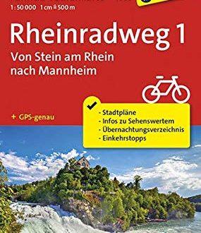 Fahrrad Tourenkarte Rheinradweg 1 Von Stein am Rhein nach Mannheim Fahrrad Tourenkarte 285x330 - Fahrrad-Tourenkarte Rheinradweg 1, Von Stein am Rhein nach Mannheim: Fahrrad-Tourenkarte. GPS-genau. 1:50000. (KOMPASS-Fahrrad-Tourenkarten, Band 7008)